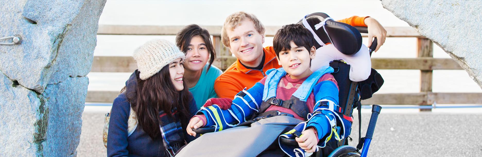 Familie und Inklusion in Unser Netz shutterstock_564392488
